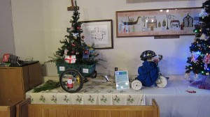 FGCC entry to the Christmas tree festival