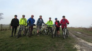 Group shot at Kithurst Hill - excellent turnout post Not Gala Night