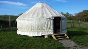 Yurt at East Yarde