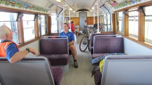 A step back in time - train from Ryde to Sandown
