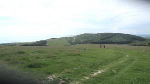 View towards Tennyson Down
