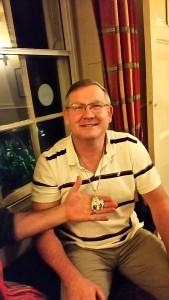 Mr R Kruger - winner of the FGCC 2016 Bulldog Bling award